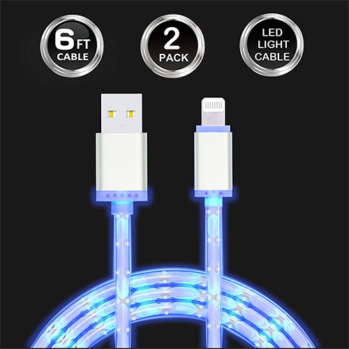 Long iPhone Lightning USB Cables