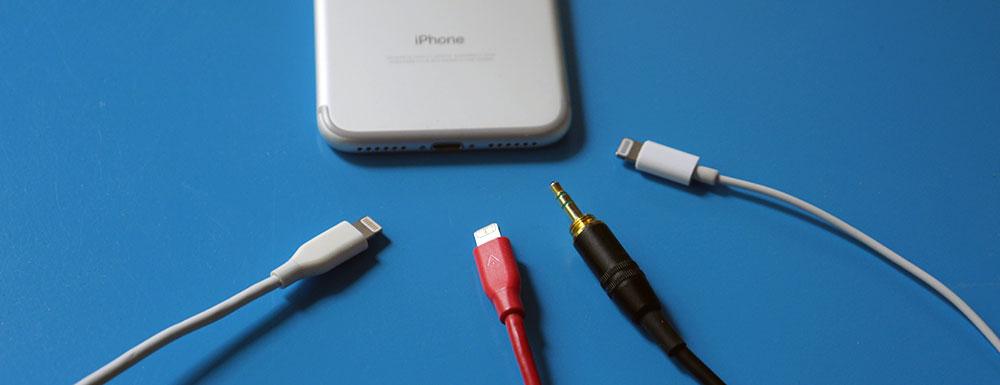 iphone lightning headphone splitter